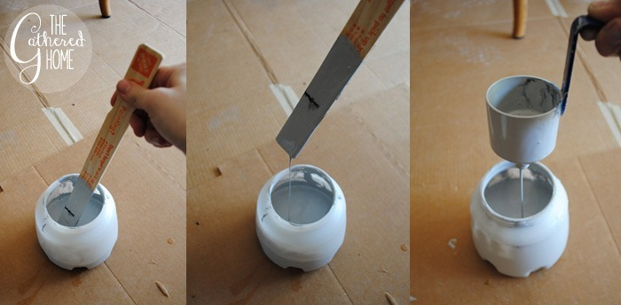 Mixing Paint for HomeRight Finish Max Paint Sprayer2