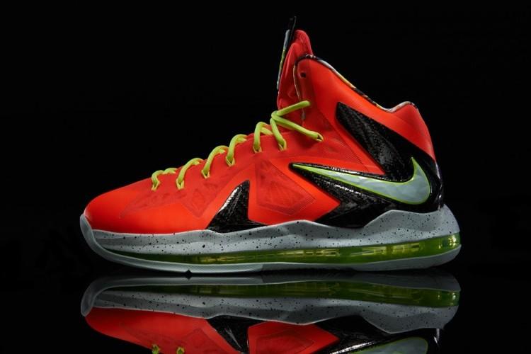 ffcc1eaec5b Release Reminder Nike LeBron X PS Elite 8220Total Crimson8221 ...