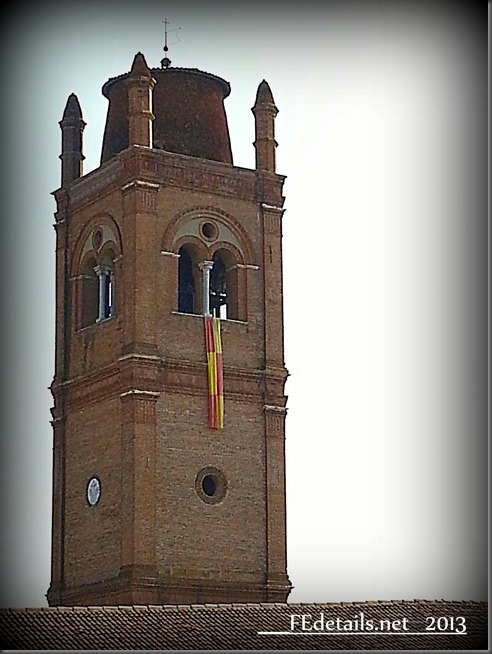 La Basilica di San Giorgio...dall'alto, Ferrara - The Basilica of Saint George ... from above, Ferrara, Italy, Photo2