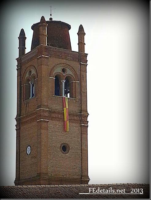La Basilica di San Giorgio...dall'alto, Ferrara - The Basilica of Saint George ... from above, Ferrara, Italy, Photo2