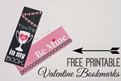 Pitter and Glink - Valentine Bookmarks
