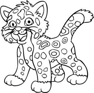 Dibujos De Jaguares Para Colorear