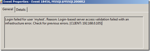 How to solve Error: 18456, Severity: 14, State: 12  Login