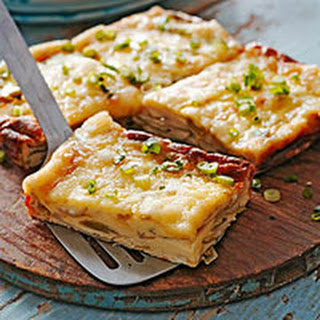 Crustless Leek Quiche