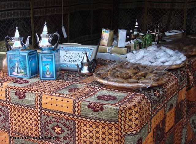 Té y dulces árabes. Almossassa. Plaza Alta de Badajoz. Septiembre 2009 (Mañana)