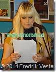 DSC01202.JPG Poet  Britta Sofia Cederquist på Världspoesidagen 2014 med amorism