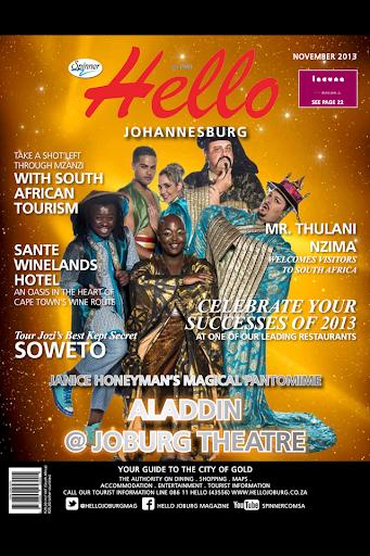 Hello Johannesburg