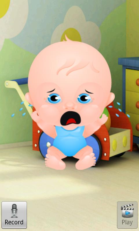 Talking Baby Boy - screenshot