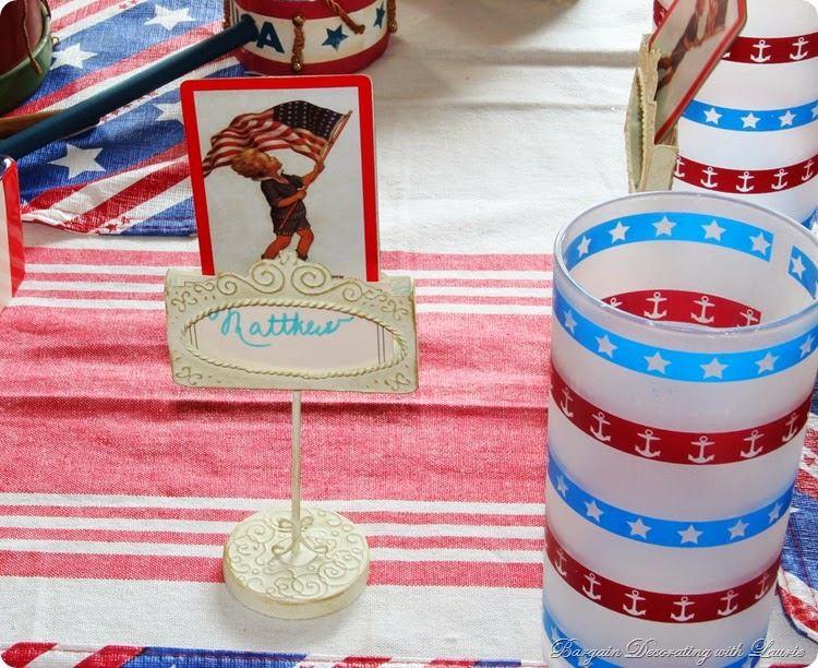 4th of July Table 8