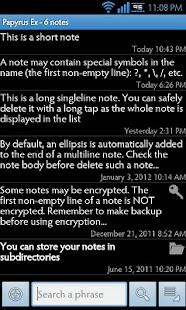 Papyrus Ex- screenshot thumbnail