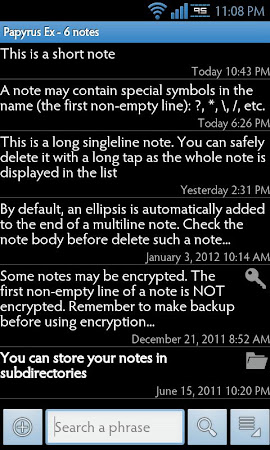 Papyrus Ex 2.3.3 screenshot 715512