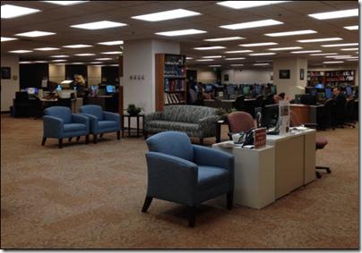 新的欢迎区取代了参考桌