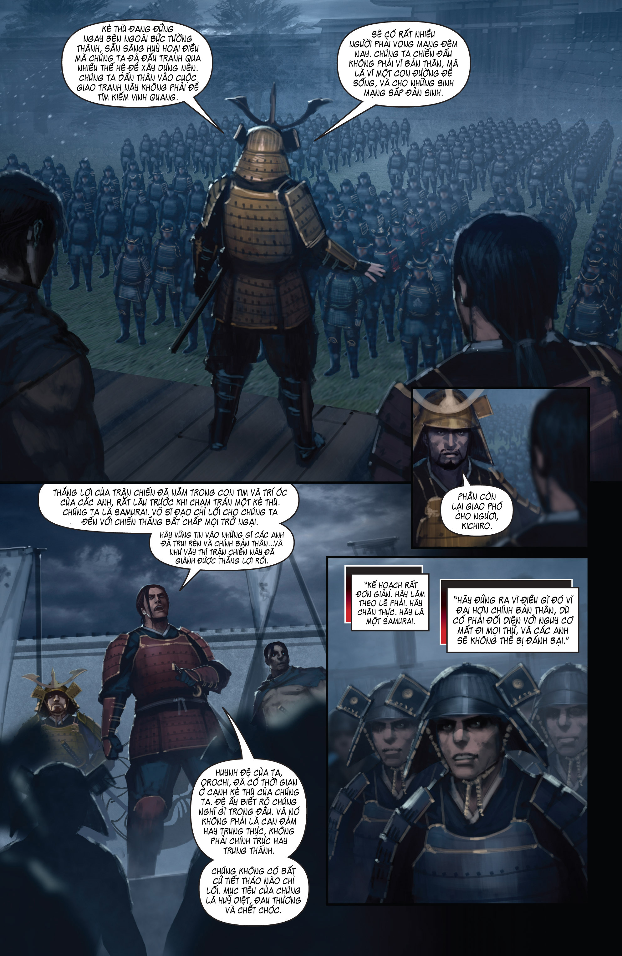 BUSHIDO - THE WAY OF THE WARRIOR chapter 5 - end trang 11