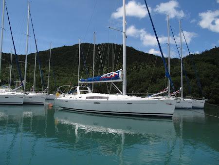 Yahturi de lux in Caraibe