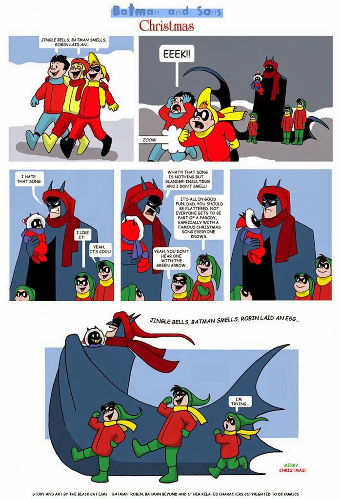 Merry Christmas Batman Meme.Comic Book Rehab December 2013