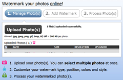 watermark photos online