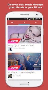 Share Music Messaging - screenshot thumbnail