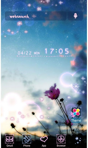 Love and Sky Wallpaper Theme 1.2 Windows u7528 1