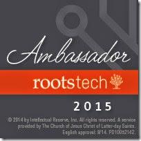 祖先的内幕家是一位官方的roottech大使