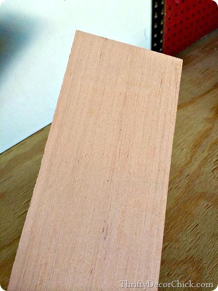 underlayment as wood planks