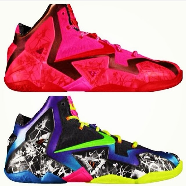 finest selection d6295 49fb2 ... New NIKEiD LeBron 11 Options Exclusively for All Star Weekend