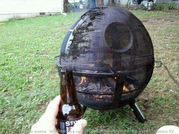 death star fire