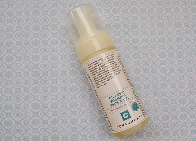 Consonant Foaming Face Wash Skincare Review