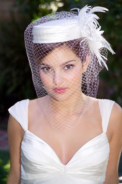 Wedding Hats For Short Hair: Short Hairstyles And Short Haircuts: A Pillbox Hat For