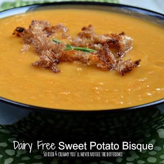 Dairy Free Sweet Potato Bisque