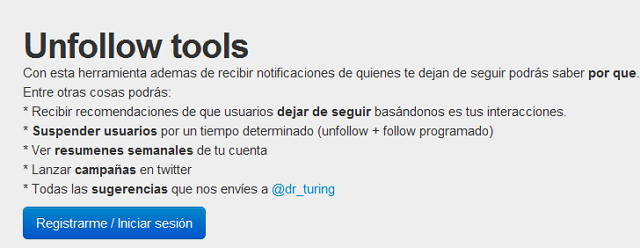 Unfollow-tools