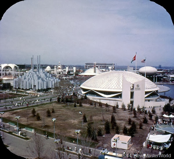 View-Master New York World's Fair 1964-1965 (A671),Scene 12 Tower of Light