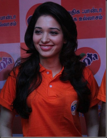 Tamanna at Winner of the Fanta Consumer Promotion Meet Photos
