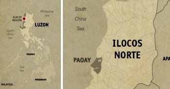 Paoay Location Map
