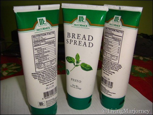 McCormick Bread Spread: No-mess Squeezable Tubes