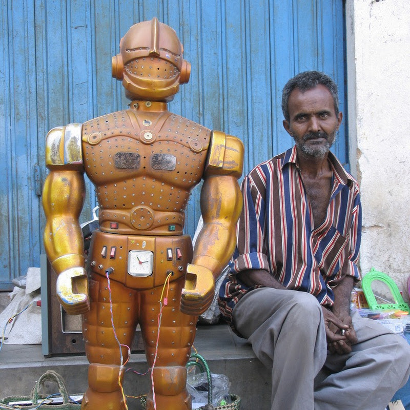 Fortune Telling Robots in India