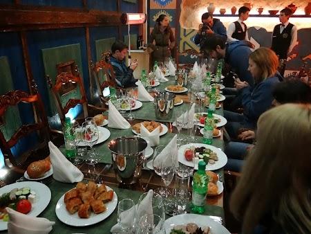 Basarabia - Drumul Vinului:  Restaurant Cricova