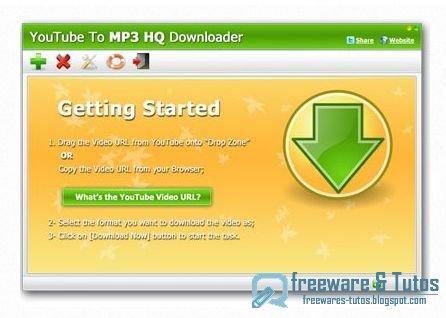 YouTube To MP3 High Quality Downloader : un logiciel gratuit pour télécharger et convertir les vidéos YouTube en fichiers MP3 et plus