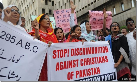 Stop Persecuting Christian Pakistanis