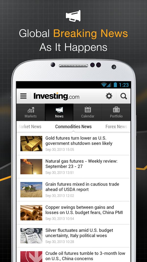 Stocks, Forex, Bitcoin, Ethereum: Portfolio & News Screenshot 4