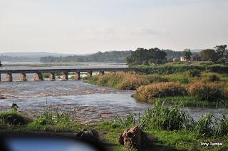 Une vue du fleuve Congo à Kinsuka/Kinshasa.
