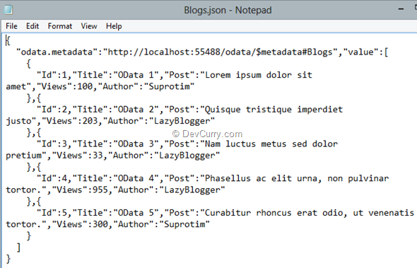 blogs-json