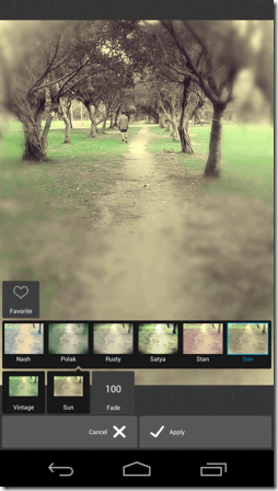 Pixlr Express 專業水準的免費特效修圖Android iOS App