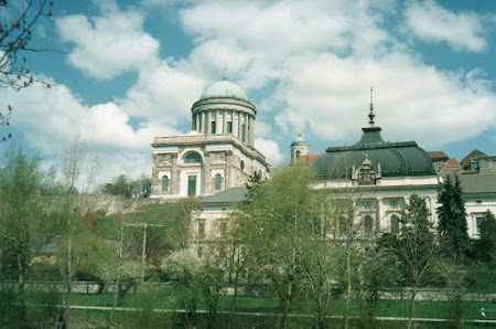 Imagini Ungaria: catedrala din Eszterghom.