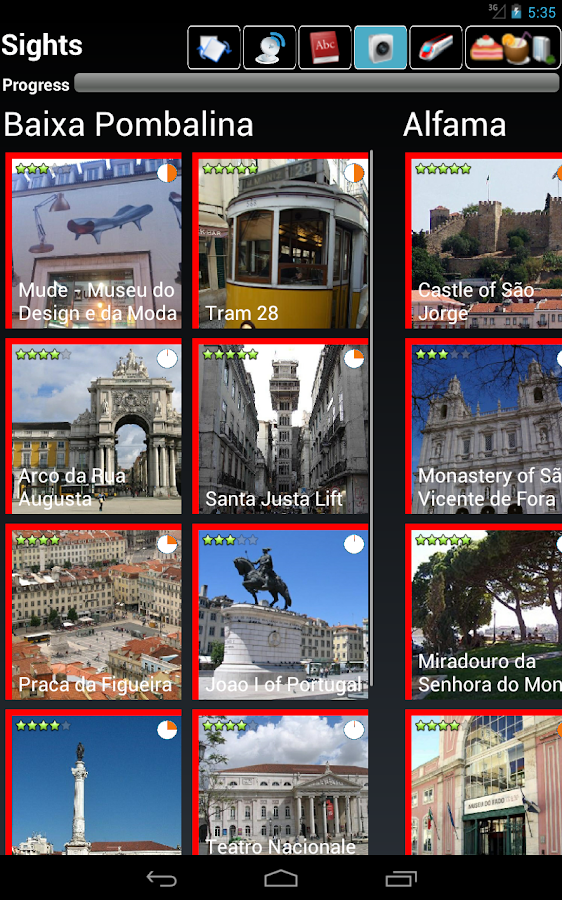 Lisbon Guide- screenshot
