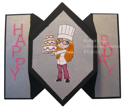 Chef Ariel Simply - Betty Stamps 2