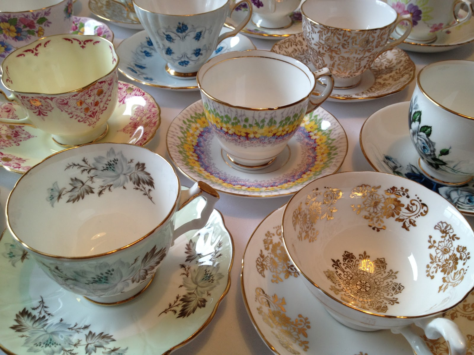 TEACUP COLLECTING