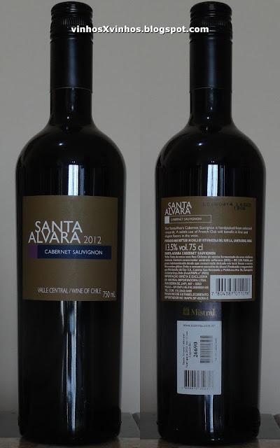 Vinho Santa Alvara