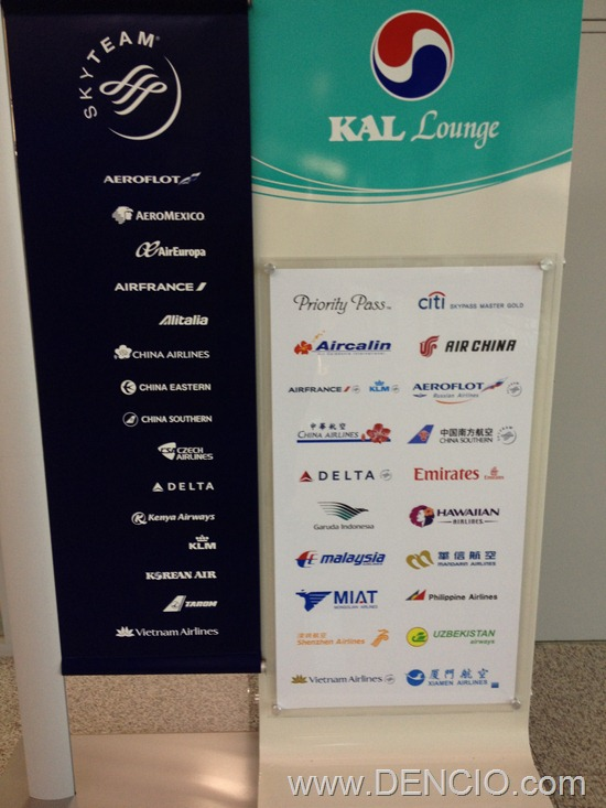 Korean Air Lounge Incheon Airport 14