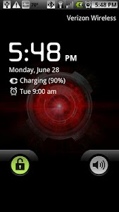 Droid X Eye Live Wallpaper screenshot 0