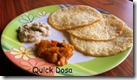 40 - Quick dosa - with leftover cooked rice